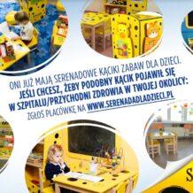 Kąciki zabaw dla dzieci –  szefowe kuchni włączyły się do akcji Serenada dla dzieci