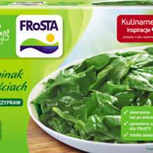 Szpinakowy kwintet – czyli zielone inspiracje od FRoSTY