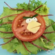 Kanapka Angry Birds