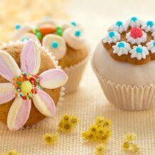 Wiosenne babeczki – zajączki czy kwiatuszki?