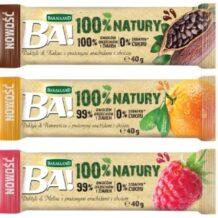 Nowe owocowe batony od Bakalland