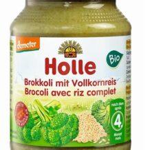 Brokuły z ryżem z pełnego przemiału BIO DEMETER