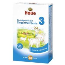 Ekologiczne mleko następne 3 na bazie mleka koziego marki Holle