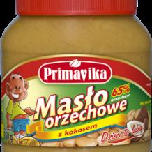 Słodkie i zdrowe – Masło orzechowe z kokosem