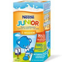 Smakowe mleko modyfikowane NESTLÉ JUNIOR w nowych opakowaniach