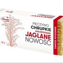 Pieczywo chrupkie kukurydziano-jaglane Tovago – NOWOŚĆ!
