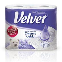 Duże i mniejsze porządki z praktycznymi i wygodnymi ręcznikami Velvet